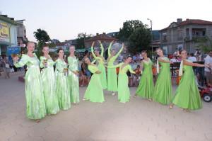 Международный фестиваль танца в Болгарии (город Обзор)