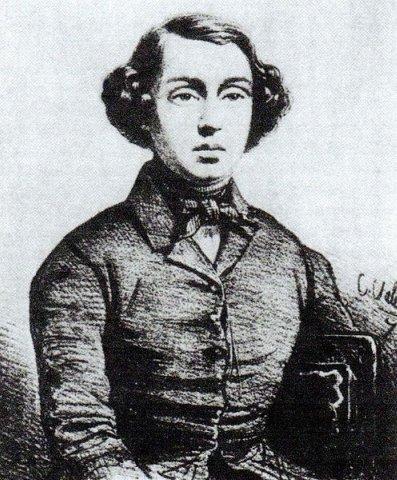 Портрет Мариуса Петипа в возрасте 15 лет